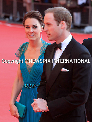 """KATE, DUCHESS OF CAMBRIDGE AND PRINCE WILLIAM.The Duke and Duchess of Cambridge joined fellow Team GB ambassadors at """"Our Greatest Team Rises"""", a gala celebration of Team GB and ParalympicsGB at the Royal Albert Hall, London_11 May 2012..Mandatory Credit Photo: ©SBP/NEWSPIX INTERNATIONAL..**ALL FEES PAYABLE TO: """"NEWSPIX INTERNATIONAL""""**..IMMEDIATE CONFIRMATION OF USAGE REQUIRED:.Newspix International, 31 Chinnery Hill, Bishop's Stortford, ENGLAND CM23 3PS.Tel:+441279 324672  ; Fax: +441279656877.Mobile:  07775681153.e-mail: info@newspixinternational.co.uk"""