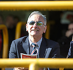 Charles Green in the stand