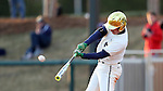 CARY, NC - MARCH 04: Notre Dame's Jake Shepski. The University of Rhode Island Rams played the University of Notre Dame Fighting Irish on March 4, 2017, at USA Baseball NTC Field 3 in Cary, NC in a Division I College Baseball game, and part of the Irish Classic tournament. Notre Dame won the game 8-4.