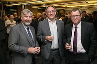 Left to right: Phil Coleman of Baker Tilley, John Murphy of Sterling Capital Reserve and John Clay of Handelsbanken