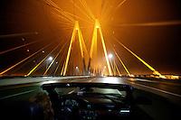 Fred Hartman Bridge in Houston, Texas - 2014