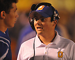 Oxford assistant coach Chris Cutcliffe vs. Hernando in Oxford, Miss. on Friday, October 14, 2011. Hernando won 31-30 in overtime.