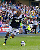 Liam Trotter, Millwall FC in action - Millwall vs Blackpool - NPower Championship Football at the New Den, London - 18/08/12 - MANDATORY CREDIT: Ray Lawrence/TGSPHOTO - Self billing applies where appropriate - 0845 094 6026 - contact@tgsphoto.co.uk - NO UNPAID USE.