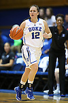 26 October 2014: Mercedes Riggs. The Duke University Blue Devils held their annual Blue-White Game at Cameron Indoor Stadium in Durham, North Carolina in preparation of the upcoming 2014-15 NCAA Division I Women's Basketball season.