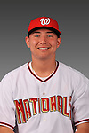 14 March 2008: ..Portrait of Chris Lugo, Washington Nationals Minor League player at Spring Training Camp 2008..Mandatory Photo Credit: Ed Wolfstein Photo