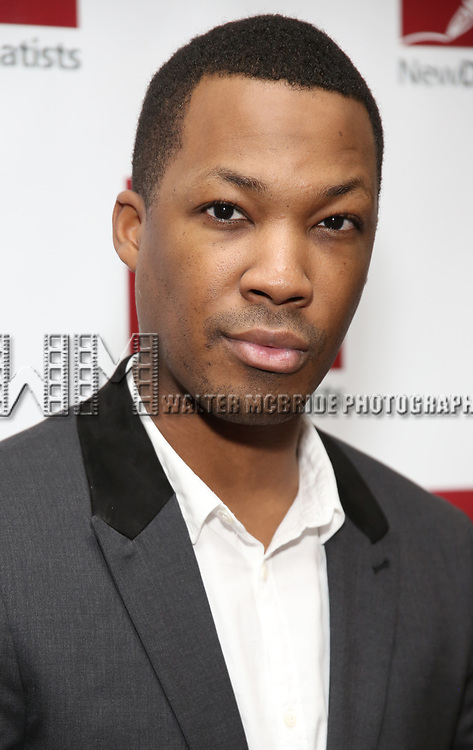 Corey Hawkins attends The New Dramatists' 68th Annual Spring Luncheon at the Marriott Marquis on May 16, 2017 in New York City.