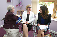 ***NO FEE PIC *** 11/06/2014 (L to R) Sr. Helena O' Donoghue Chairperson MLRC, Minister of State for Housing, Minister Jan O'Sullivan TD & Maeve Regan Managing Solicitor MLRC during The Mercy Law Resource Centre's Annual Report for 2013 at Sophia Housing on Cork Street, Dublin. Photo: Gareth Chaney Collins