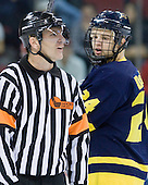 Scott Hansen, Stephane Da Costa (Merrimack - 24) - The visiting Merrimack College Warriors tied the Boston University Terriers 1-1 on Friday, November 12, 2010, at Agganis Arena in Boston, Massachusetts.