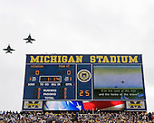 University of Michigan football defeated (35-10) by Penn State University at Michigan Stadium on 10/24/09.