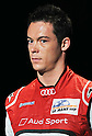 German auto racing driver, Andre Lotterer attends a press conference for Audi Japan in Tokyo, Japan, on August 23, 2011. (Photo by AFLO)