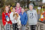 Enjoying the Tralee Junior Park Run on Sunday were Roisin Sugrue, Alannah Cunnane with Gooch, Ciara Sugrue, Jane Lynch, Kieran O'Brien