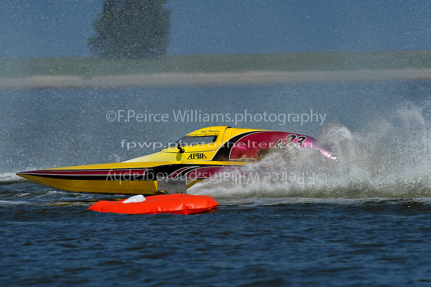 "Mike Monohan, A-23 ""Geezerboat"" (2.5 MOD class hydroplane(s)"