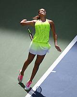 FLUSHING NY- SEPTEMBER 02: Madison Keys Vs Naomi Osaka on Arthur Ashe Stadium at the USTA Billie Jean King National Tennis Center on September 2, 2016 in Flushing Queens. Credit: mpi04/MediaPunch