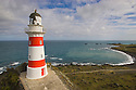 Light house at Cape Palliser, New Zealand, North Island