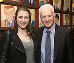 Leah Lane and Tom Viertel attends the The Robert Whitehead Award presented to Mike Isaacson at Sardi's on May 10, 2017 in New York City.