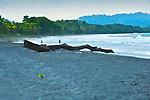 Playa Negra, Black-Sand Beach, Caribbean, Cahuita, Costa Rica
