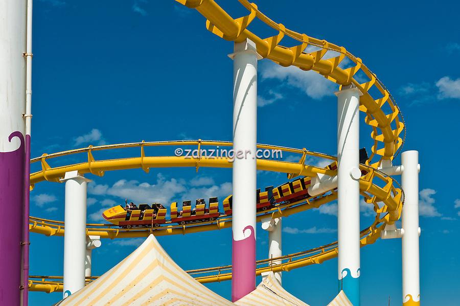 Pacific Park, Pier, Roller Coaster, Amusement, Santa Monica, CA,  Recreation, SoCal, South Bay