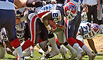 Buffalo Bills running back Travis Henry (20) on Sunday, September 19, 2004, in Oakland, California. The Raiders defeated the Bills 13-10.