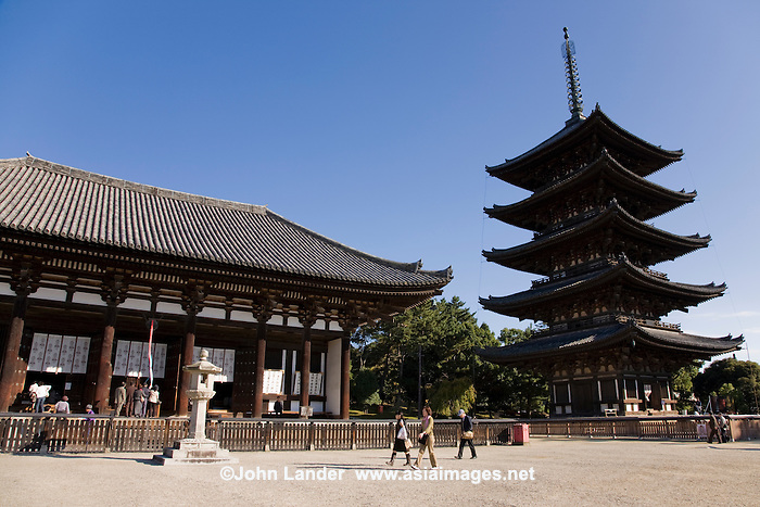 Kofukuji Temple, Nara  Asia Images