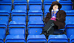 St Johnstone v Brechin...07.01.12  Scottish Cup Round 4.A St Johnstone fan wrapped up against the cold..Picture by Graeme Hart..Copyright Perthshire Picture Agency.Tel: 01738 623350  Mobile: 07990 594431