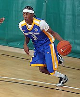 April 8, 2011 - Hampton, VA. USA; Anthony Barber participates in the 2011 Elite Youth Basketball League at the Boo Williams Sports Complex. Photo/Andrew Shurtleff
