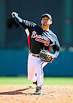 5 March 2010: Atlanta Braves' pitcher Takashi Saito on the mound during a Spring Training game against the Washington Nationals at Champion Stadium in the ESPN Wide World of Sports Complex in Orlando, Florida. The Braves defeated the Nationals 11-8 in Grapefruit League action. Mandatory Credit: Ed Wolfstein Photo