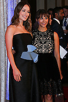 BEVERLY HILLS, CA, USA - OCTOBER 28: Olivia Wilde, Rashida Jones arrive at the 25th Annual Courage in Journalism Awards held at the Beverly Hilton Hotel on October 28, 2014 in Beverly Hills, California, United States. (Photo by Xavier Collin/Celebrity Monitor)