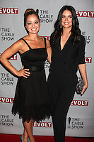 Katie Lee, Marcela Valladolid<br /> at the NCTA's Chairman's Gala Celebration of Cable with REVOLT, The Belasco Theater, Los Angeles, CA 04-30-14<br /> David Edwards/DailyCeleb.Com 818-249-4998