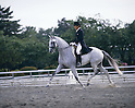 Hiroshi Hoketsu,.JUNE 13, 1986 - Equestrian : Hiroshi Hoketsu in action during the Equestrian competition at the Asian Games 2nd qualifying selection in Japan..(Photo by Shinichi Yamada/AFLO) [0348]