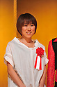 Yoshimi Ozaki (JPN),.MARCH 11, 2012 - Marathon : Nagoya Women's Marathon 2012 during Farewell Party, Aichi, Japan. (Photo by Jun Tsukida/AFLO SPORT)[0003].