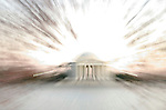 For tourists and infrequent visitors, the Jefferson Memorial is usually the focal landmark for cherry blossom pictures.