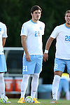 23 October 2015: North Carolina's Warren Marshall. The University of North Carolina Tar Heels hosted the University of Louisville Cardinals at Fetzer Field in Chapel Hill, NC in a 2015 NCAA Division I Men's Soccer match. UNC won the game 2-1.