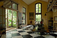 Sri Lanka. Lunuganga. The country home and garden of architect Geoffrey Bawa.