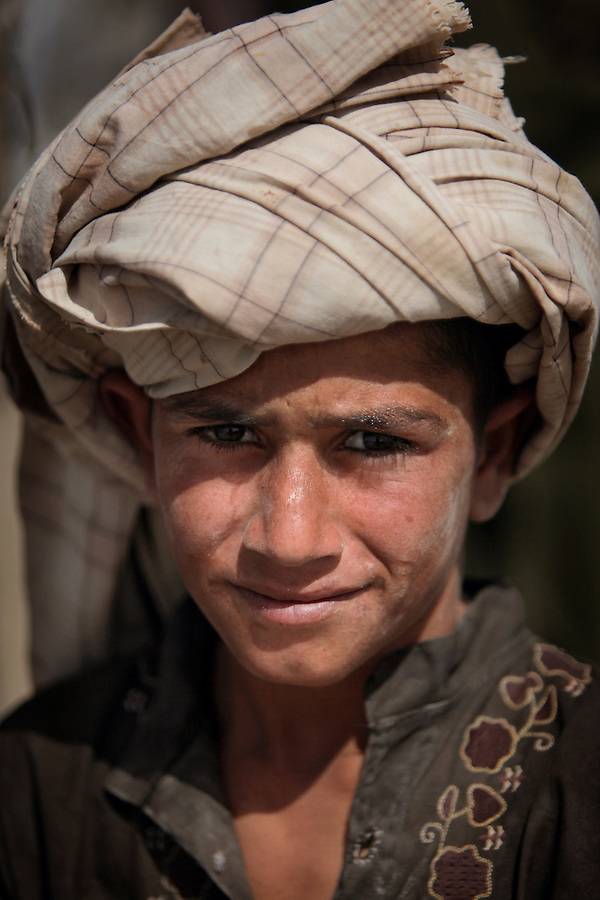 Children in Afghanistan's Helmand Province on July 20, 2009.