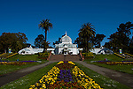 California: San Francisco. Conservatory of Flowers in Golden Gate Park.  Photo copyright Lee Foster. Photo #: 23-casanf78876