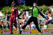 16.02.2015. Nelson, New Zealand.  Ireland player George Dockrel during the 2015 ICC Cricket World Cup match between West Indies and Ireland. Saxton Oval, Nelson, New Zealand.