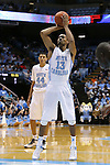 24 October 2014: North Carolina's J.P. Tokoto (13). The University of North Carolina Tar Heels played the Fayetteville State University Broncos in an NCAA Division I Men's basketball exhibition game at the Dean E. Smith Center in Chapel Hill, North Carolina. UNC won the exhibition 111-58.