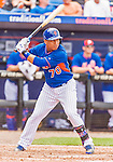 8 March 2015: New York Mets infielder Wilfredo Tovar in Spring Training action against the Boston Red Sox at Tradition Field in Port St. Lucie, Florida. The Mets fell to the Red Sox 6-3 in Grapefruit League play. Mandatory Credit: Ed Wolfstein Photo *** RAW (NEF) Image File Available ***