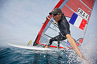 French Sailing Team Warm Up ISAF World Cup