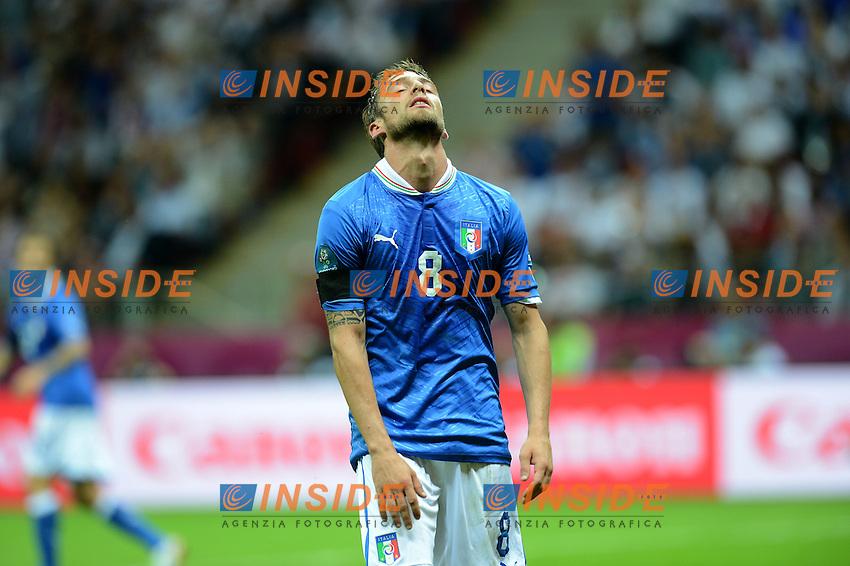 "Claudio MARCHISIO (Italia).Varsavia 28/06/2012  ""Stadion Narodowy"".Football calcio Europeo 2012 Germania Vs Italia.Football Calcio Euro 2012.Foto Insidefoto Alessandro Sabattini..."