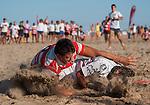 Segunda jornada del torneo de Rugby Playa Seven Tiburon en su 17&ordf; edicion. <br /> Playa Malvarrosa (Valencia-Espa&ntilde;a)<br /> 6 de julio de 2013.