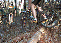 Mountian Bike Riding in Charlottesville, Va. Photo/Andrew Shurtleff bike ride ohill trail