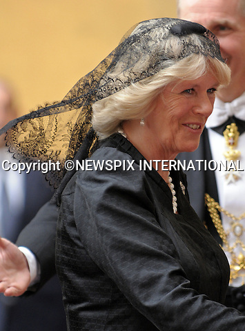 """PRINCE CHARLES and CAMILLA_Duchess of Cornwall.Visit the Vatican for a meeting with Pope Benedict_Vatican City_27/04/2009.Mandatory Photo Credit: ©Dias/Newspix International..**ALL FEES PAYABLE TO: """"NEWSPIX INTERNATIONAL""""**..PHOTO CREDIT MANDATORY!!: NEWSPIX INTERNATIONAL(Failure to credit will incur a surcharge of 100% of reproduction fees)..IMMEDIATE CONFIRMATION OF USAGE REQUIRED:.Newspix International, 31 Chinnery Hill, Bishop's Stortford, ENGLAND CM23 3PS.Tel:+441279 324672  ; Fax: +441279656877.Mobile:  0777568 1153.e-mail: info@newspixinternational.co.uk"""