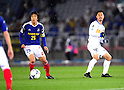 Shunsuke Nakamura (F Marinos), Mitsuo Ogasawara (Antlers),.MARCH 31, 2012 - Football / Soccer :.2012 J.League Division 1 match between Yokohama F Marinos 0-0 Kashima Antlers at Nissan Stadium in Kanagawa, Japan. (Photo by AFLO)