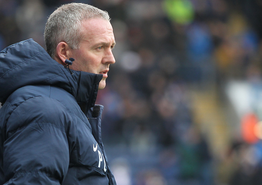 Blackburn Rovers Manager Paul Lambert<br /> <br /> Photographer Mick Walker/CameraSport<br /> <br /> Football - The Football League Sky Bet Championship - Blackburn Rovers v Milton Keynes Dons - Saturday 27th February 2016 - Ewood Park - Blackburn<br /> <br /> &copy; CameraSport - 43 Linden Ave. Countesthorpe. Leicester. England. LE8 5PG - Tel: +44 (0) 116 277 4147 - admin@camerasport.com - www.camerasport.com
