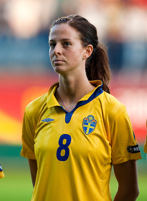 Lotta schelin sweden russia women s euro 2009 in finland 08252009
