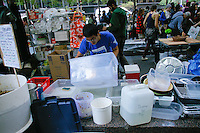 Grey Water system at the Occupy Wall Street Protest in New York City October 6, 2011.