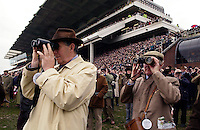 Spectators at the Cheltenham Races, Gloucestershire, Cheltenham.