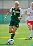 26 August 2012: University of Vermont Catamount forward Ellie Mills in action against the Fairfield University Stags at Virtue Field in Burlington, Vermont. The Stags defeated the Lady Cats 1-0. Mandatory Credit: Ed Wolfstein Photo