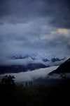 Low mist and cloud, early dismal morning. Imst district ,Tryol/Tirol, Astria.